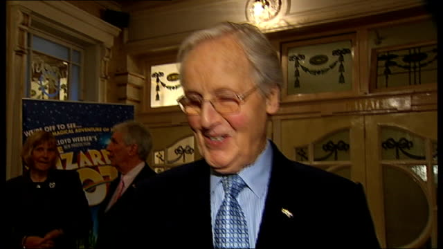london palladium celebrates 100th birthday: celebrity interviews; neil sedaka interview sot - andrew lloyd-webber asked me to come today / i have... - nicholas parsons stock videos & royalty-free footage