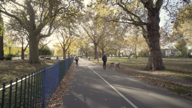 London Parks in full Autumn colours