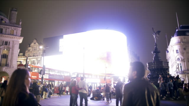 London Piccadilly Circus at Night