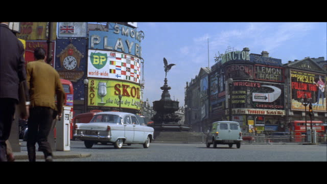 1962 london - piccadilly circus - piccadilly stock videos and b-roll footage