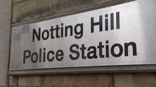 London police stations under threat / mayors summit meeting ENGLAND London EXT Various of Ealing police station / Various of Notting Hill police...