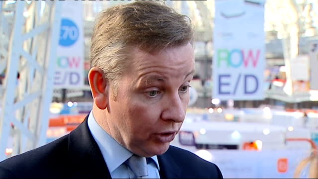 London primary school fights change to academy status BETT Conference Gove along with others at education and technology event Gove interview SOT On...