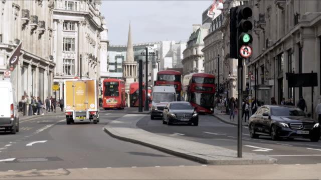 London Regent Street to the North