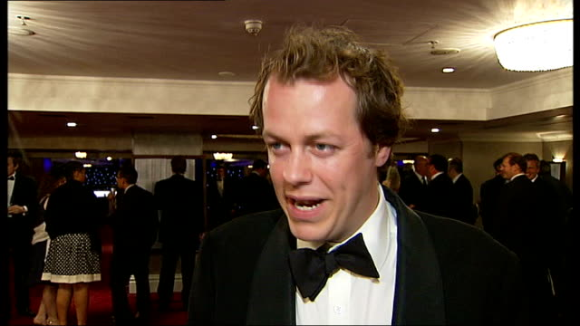interviews and photocalls brian turner posing for photocall / unidentified man posing for photocall / tom parker bowles posing for photocall tom... - jon culshaw stock videos & royalty-free footage