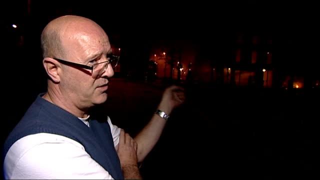 croydon general views and interviews at night; vox pop - ロンドン クロイドン点の映像素材/bロール