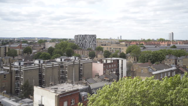 vidéos et rushes de london rooftops - hackney