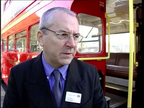 heritage routes launched peter hendy interviewed sot don't confuse routes for tourists and enthusiasts with serious job of providing modern... - transport conductor stock videos & royalty-free footage
