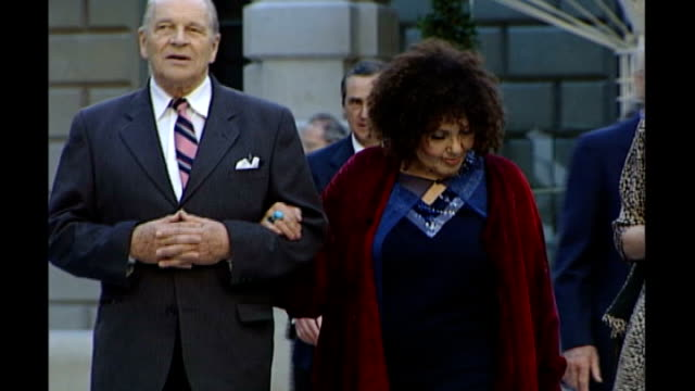 london: royal academy: ext johnny dankworth along with cleo laine - john dankworth stock videos & royalty-free footage