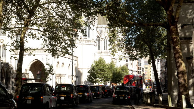london royal courts of justice in the strand - chapel stock videos & royalty-free footage