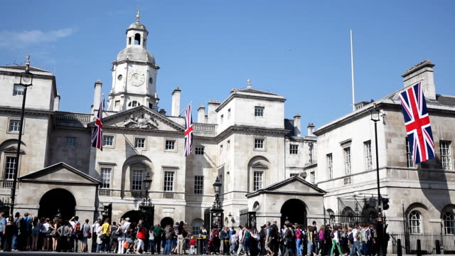 london royal horse guards - honour guard stock videos & royalty-free footage