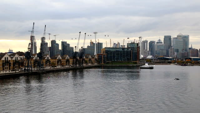 london royal victoria dock - east london stock videos and b-roll footage