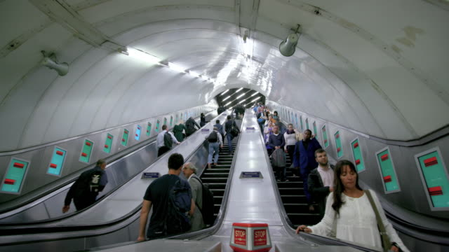 london september monday - escalator stock videos & royalty-free footage