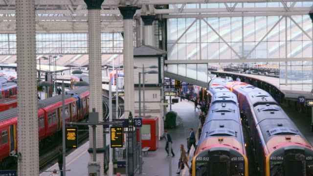 london september tuesday - railway station stock videos & royalty-free footage