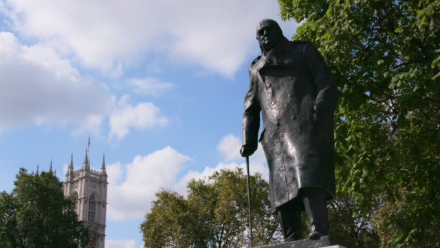 london september wednesday - statue stock videos & royalty-free footage