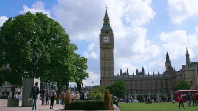 london september wednesday - ウェストミンスター宮殿点の映像素材/bロール