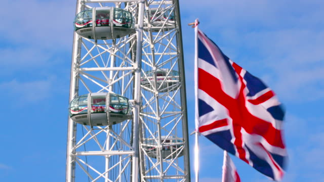 london september wednesday - millennium wheel stock videos & royalty-free footage