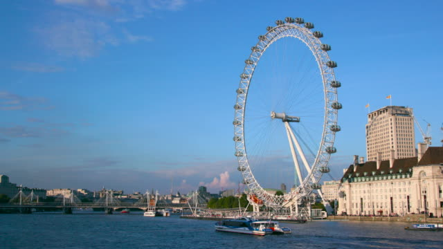 london september wednesday - millennium wheel stock videos and b-roll footage