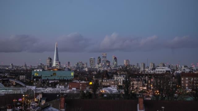 london skyline tl - peckham stock videos and b-roll footage