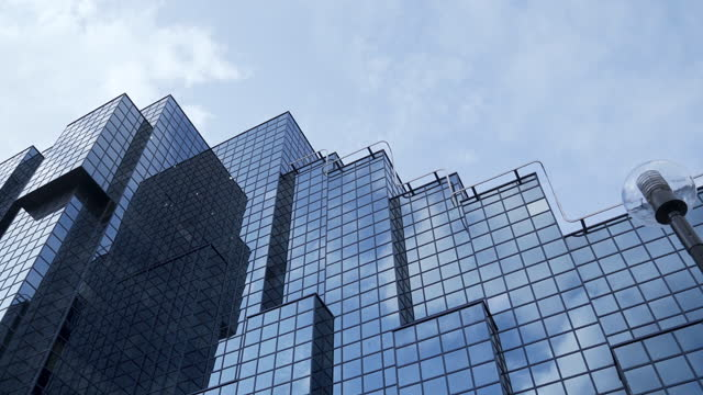 london skyscrapers - bridge built structure stock videos & royalty-free footage