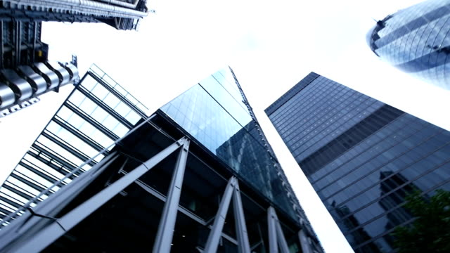 london skyscrapers - directly below stock videos & royalty-free footage