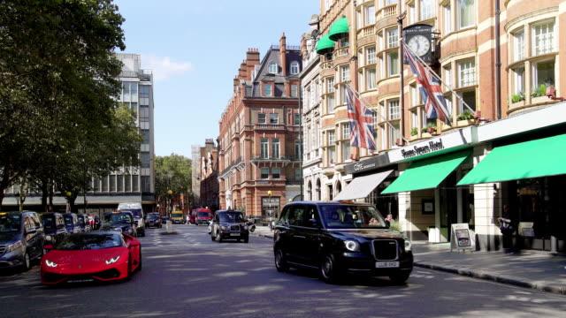 london sloane square - 高級車点の映像素材/bロール