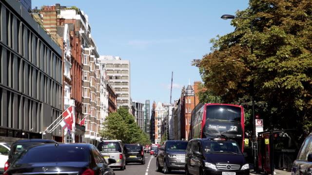 london sloane street - embassy stock videos & royalty-free footage
