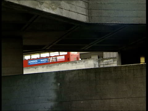 south bank gvs exterior of national theatre west london gvs exterior of trellick tower int rodney gordon interview sot tricorn has extra factor 35... - trombone stock videos & royalty-free footage