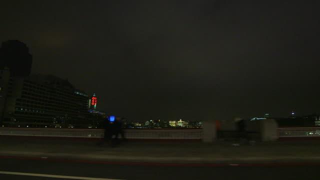 London South Bank, night