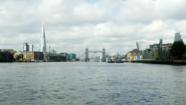 London Southwark And The City Viewed From River Thames