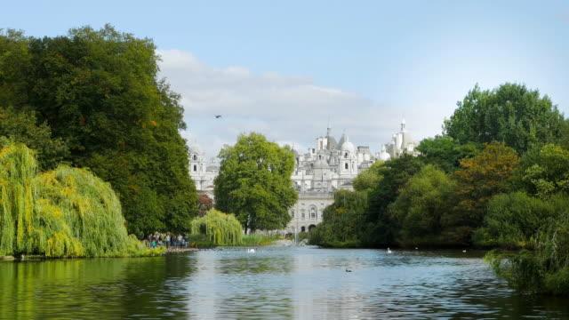 London St. James's Park And Horse Guards Building Cinemagraph