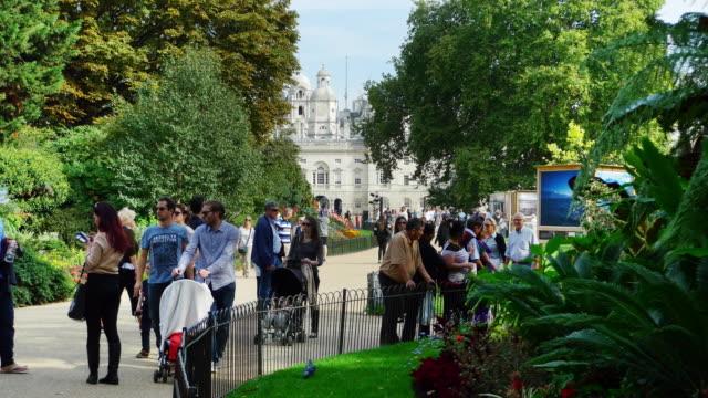 Londoner St. James Park und Horse Guards Building