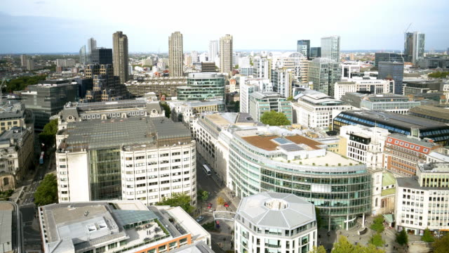 london st. martin's le grand and barbican estate - st. paul's cathedral london stock videos & royalty-free footage