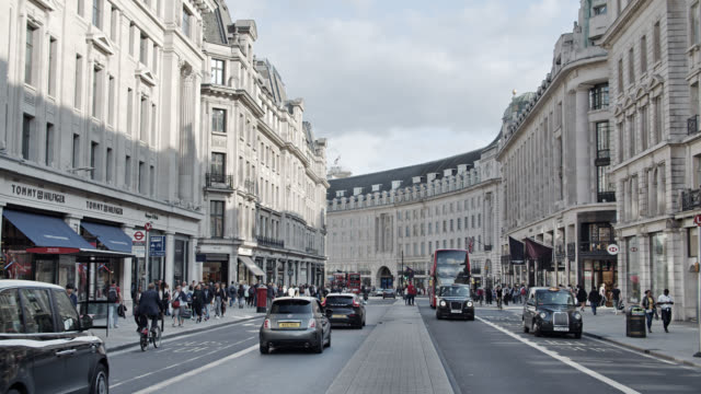 london street. fashion area. shopping mall - collection stock videos & royalty-free footage