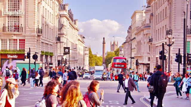 london street. - walkable city stock videos & royalty-free footage