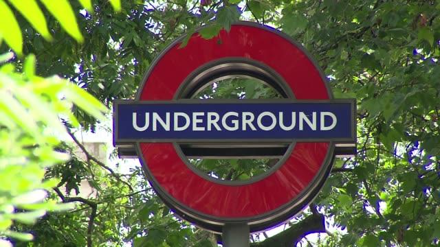 london subway symbol - logo stock videos & royalty-free footage