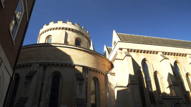 london temple church - temple building stock videos & royalty-free footage