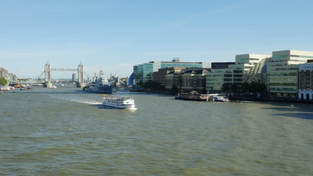 london thames river and southwark (uhd) - royal navy stock videos and b-roll footage