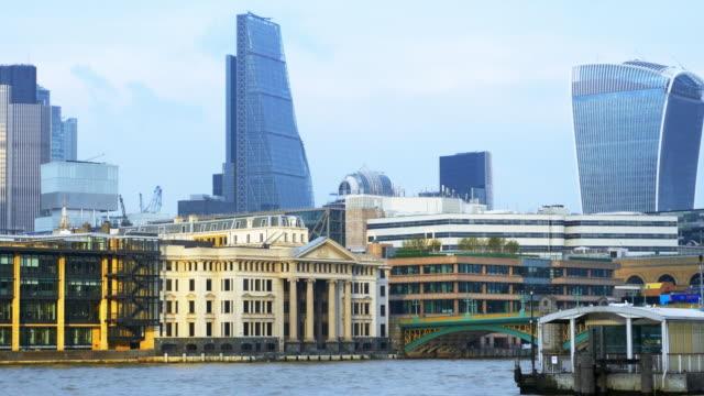 Tamise de Londres et la ville