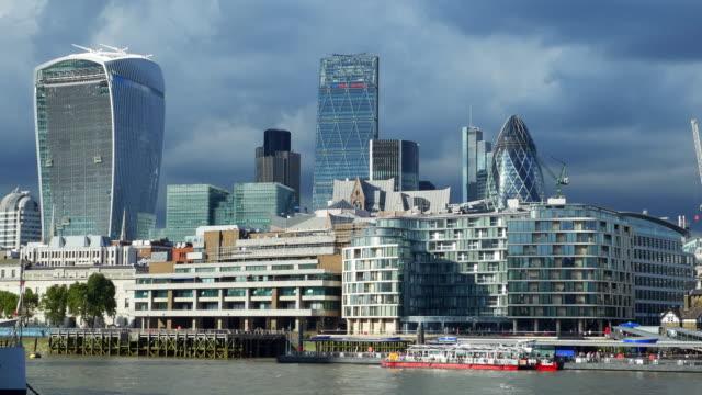 stockvideo's en b-roll-footage met theems van londen en de stad - city of london