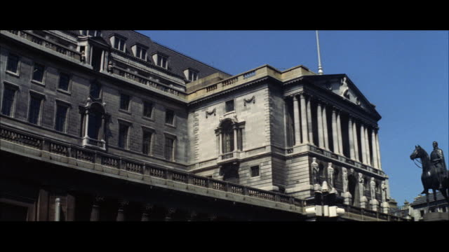 1962 london - the royal mint and banks in the city - royal mint stock videos & royalty-free footage