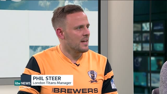 football / london titans and queens park rangers fc join forces to tackle homophobia in the sport england london int phil steer and paul finney live... - homophobia stock videos and b-roll footage