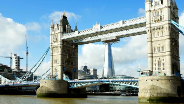 POV London Tower Bridge And Southwark Borough (4K/UHD to HD)