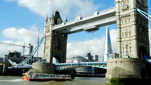 London Tower Bridge And Southwark Borough (4K/UHD to HD)