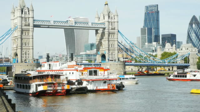 London Tower Bridge And The City Cinemagraph