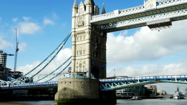 POV London Tower Bridge Boat View (4K/UHD to HD)