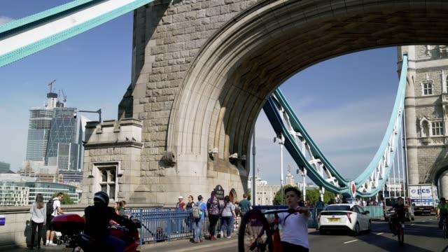 London Tower Bridge Scene
