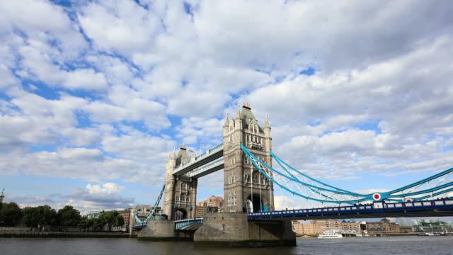London Tower Bridge, Timelapse HD vidéo