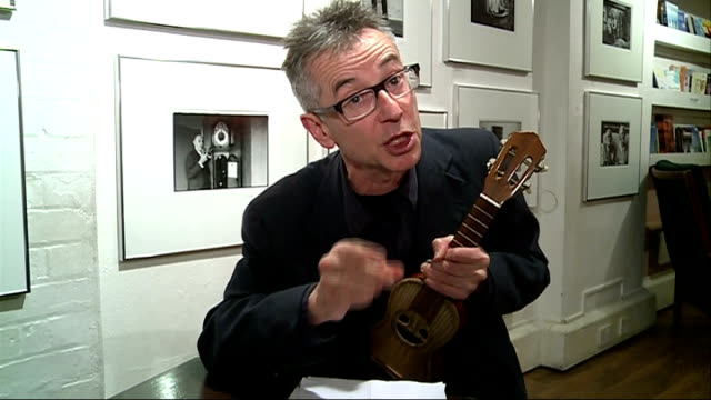 poetry on the tube hegley reading poem sot - poetry stock videos and b-roll footage