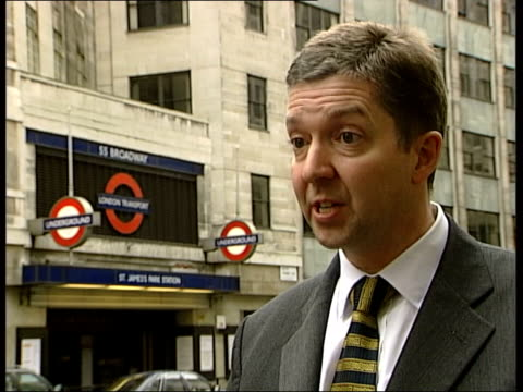london underground crash inquiry mike brown interviewed sot our rules and procedures are clear that if our drivers feel a train is unsafe in any way... - crisscross stock videos & royalty-free footage