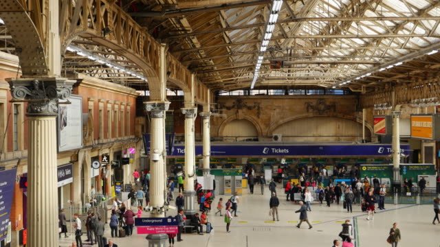 London Victoria Railway Station (UHD)